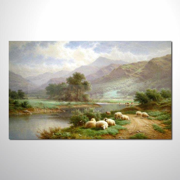 油画 欧式风景38 装饰品 山水画 艺术品 插画 无框画 浮雕立体3d画
